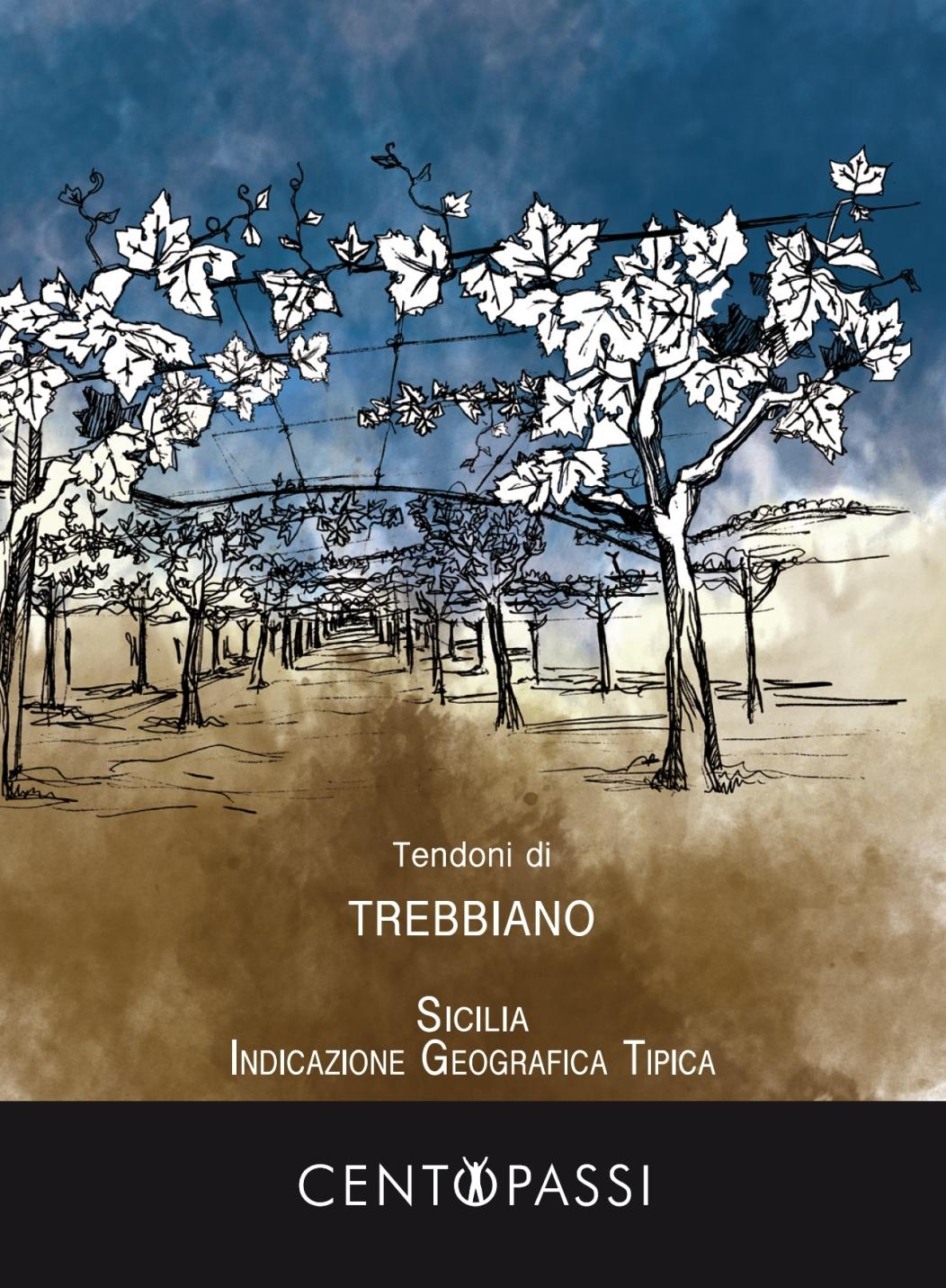 Tendoni di Trebbiano Sicilia IGT - CENTOPASSI