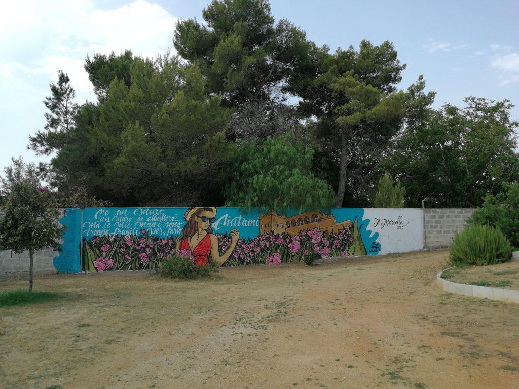 murale Marcella di Levrano
